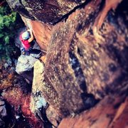 Rock Climbing Photo: Mutiny on the Bounty.