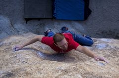 Rock Climbing Photo: JBMFP.  Photo Darin Limvere.