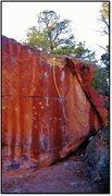 Rock Climbing Photo: Wall Drug problem beta.