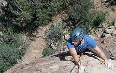 Rock Climbing Photo: Russ on OO