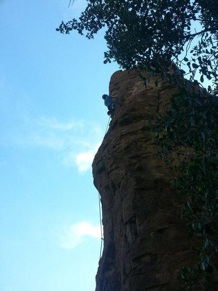 Rock Climbing Photo: Russell. On OO