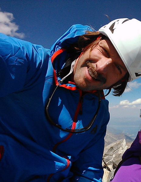 Rock Climbing Photo: top of grand