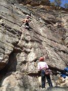 Rock Climbing Photo: We're jammin'