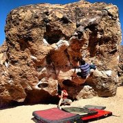 Rock Climbing Photo: Hitting up the Hulk