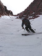Rock Climbing Photo: Skiing down the Y.