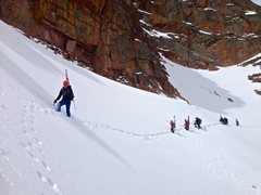 Rock Climbing Photo: Superhighway on the Hero Traverse, 4/12/14.