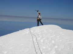Rock Climbing Photo: On the Lib cap summit. 06/30/2013.
