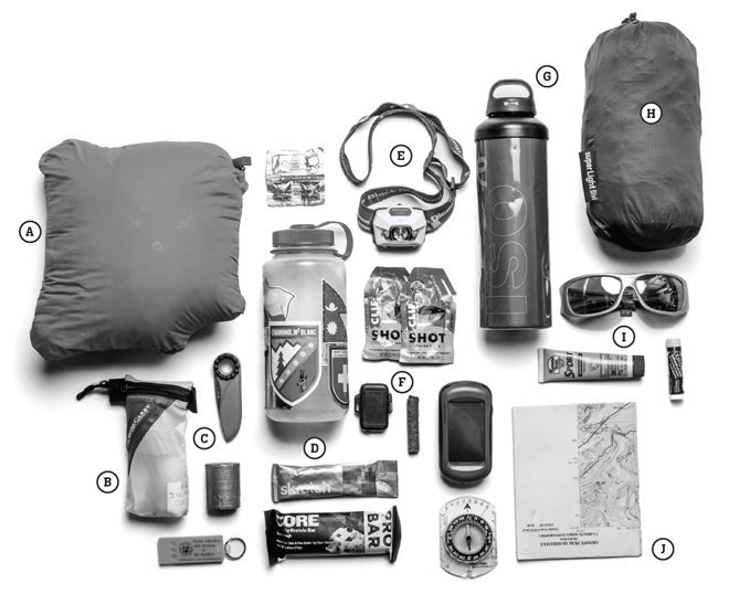 Essential bivy survival kit