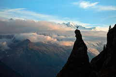 Rock Climbing Photo: Yoga for climbers, Chamonix by Andy Mann