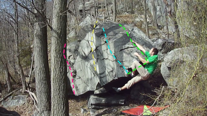 """Steve topping out on """"Fruit Cake"""" (green line). Dime Drop (teal line)"""
