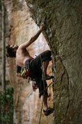 Rock Climbing Photo: Canadian climber Benjamin Z on Left Flank.