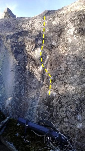 Rock Climbing Photo: Dihedral Climbs!