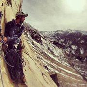Rock Climbing Photo: 3rd pitch belay