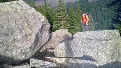 Rock Climbing Photo: Part of the boulder field