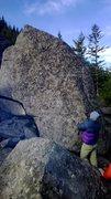 Rock Climbing Photo: decent sized boulder