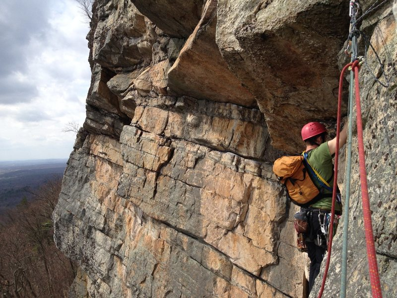 Starting the crux