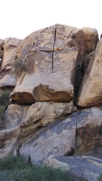 Rock Climbing Photo: Indian Creek Crack.  Take the splitter up.