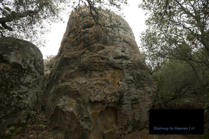 Rock Climbing Photo: Around the corner from High Horse.