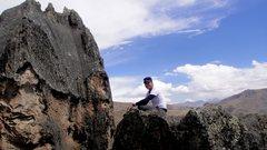Rock Climbing Photo: Hatun Machay, Huaraz, Peru