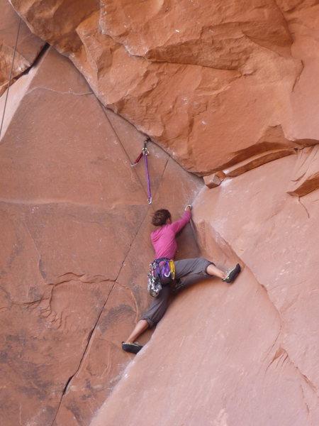 Rock Climbing Photo: Potash Rd.