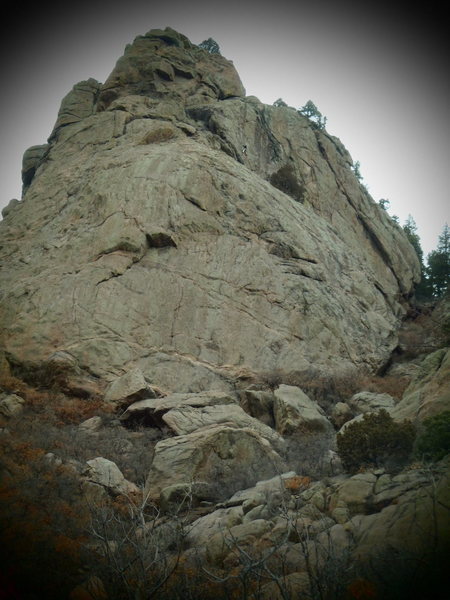 Rock Climbing Photo: Look closely.