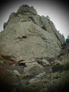 Rock Climbing Photo: Look closely.