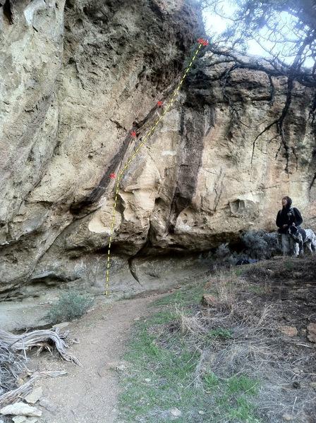 Rock Climbing Photo: Thug Life