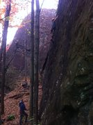 Rock Climbing Photo: rad on trad