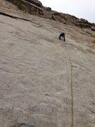 Rock Climbing Photo: Shawn Scott, 2nd pitch.