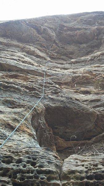 Rock Climbing Photo: the Delicatessen roof