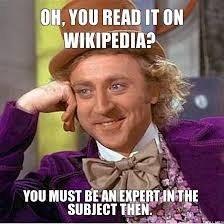Wikipedia?