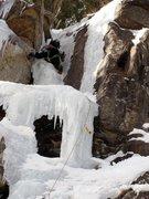 Rock Climbing Photo: Penguin Chimney