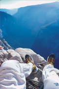 Rock Climbing Photo: Big Sandy Bivy, Half Dome!