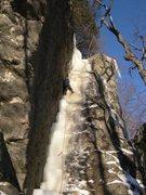 Rock Climbing Photo: Parallel Gully, Rumney