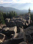 Rock Climbing Photo: Awesome view from the boulders.