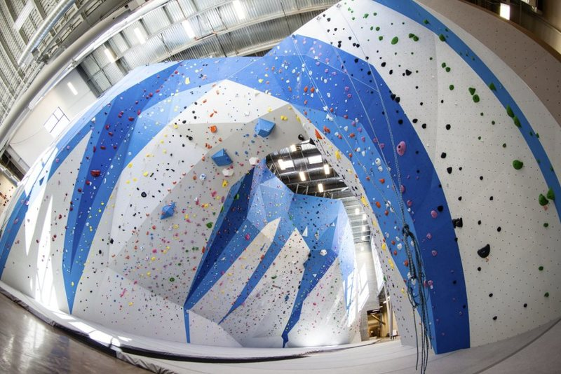 Rock Climbing Photo: Momentum Millcreek completed