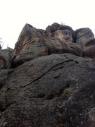 Rock Climbing Photo: Flameout