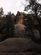 Rock Climbing Photo: Landwhale Arete, Unnamed 5.6 & 5.8