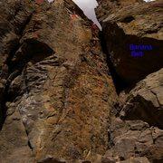 Rock Climbing Photo: Topo to Banana right side