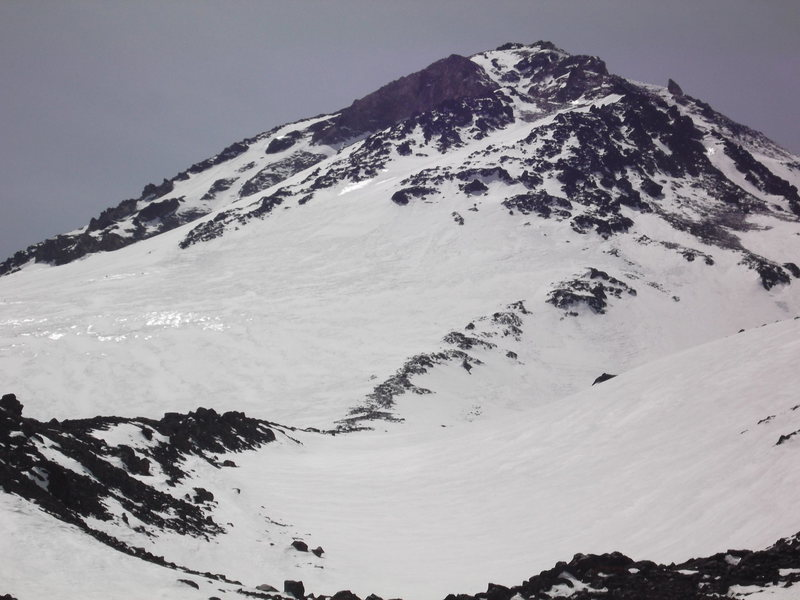 "Hotlum/Bolam ridge April 14th 2014 taken from ""Northgate basecamp"" ~ 9,800'"