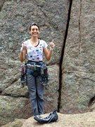 Rock Climbing Photo: I <3 cracks.