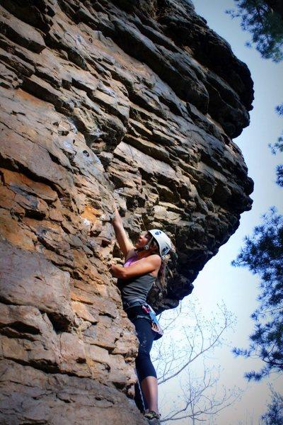 Rock Climbing Photo: Sport-climbing at Franklin