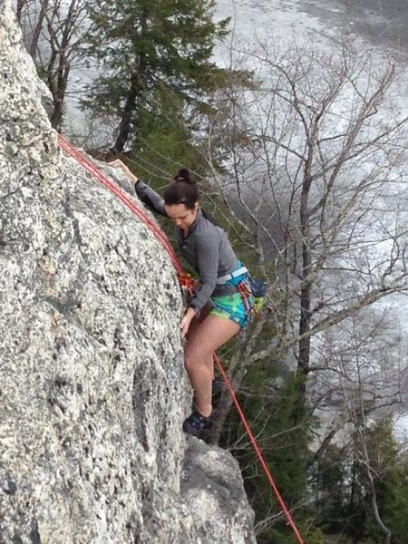 My first ever outdoor climb! 04-14-2014