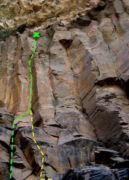 Rock Climbing Photo: Rice Paddy Ambush