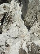Rock Climbing Photo: Tower of the Hand follows the broken corner system...