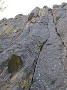 Rock Climbing Photo: leading Bridger