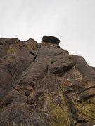 Rock Climbing Photo: below Dancing Madly Backwards