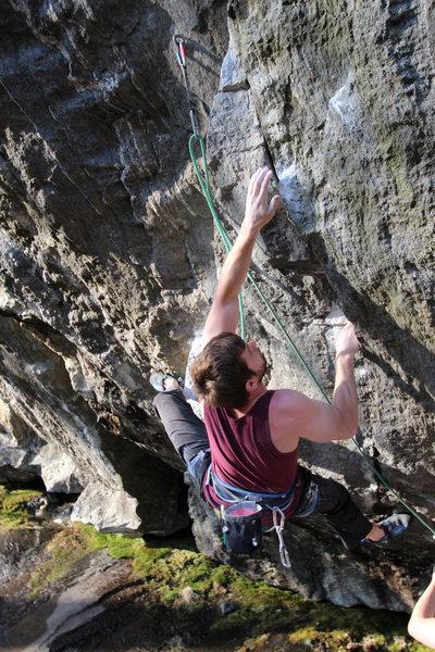 Rock Climbing Photo: i forgot your name too but again, nice to meet you...