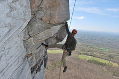 Rock Climbing Photo: Got to love these roof holds (Zoo View, Moores Wal...