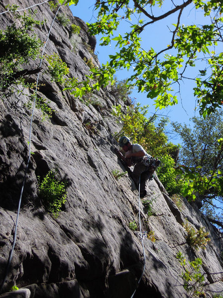 Rock Climbing Photo: at the beginning of MRTC